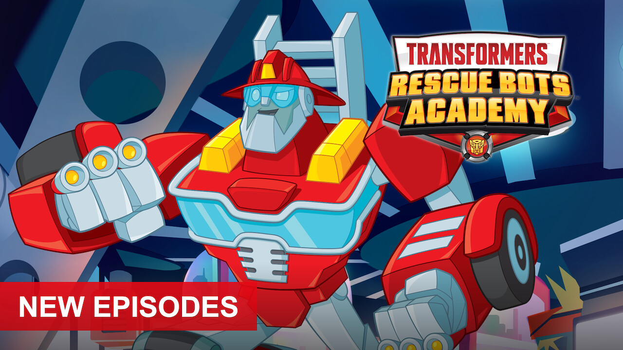 Transformers Rescue Bots Academy on Netflix Canada