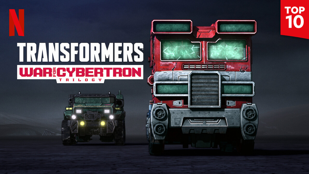 Transformers: War For Cybertron Trilogy on Netflix Canada