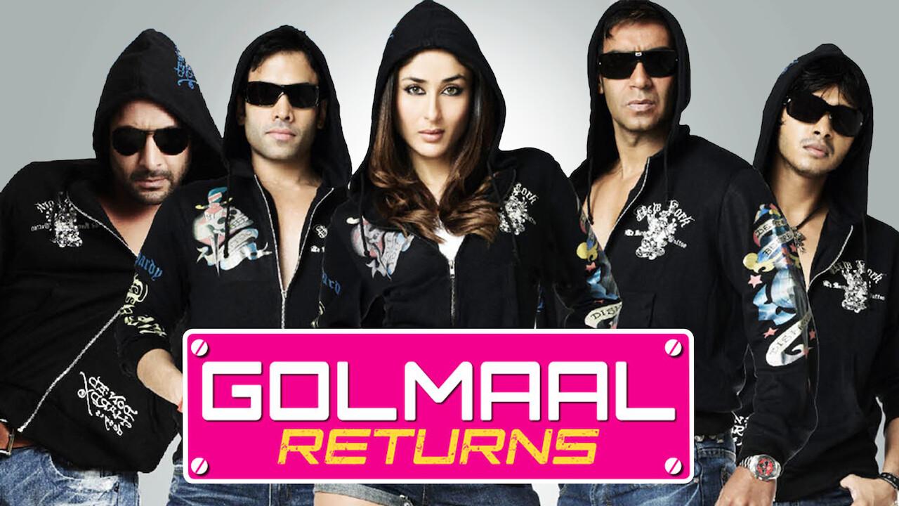 Golmaal Returns on Netflix Canada