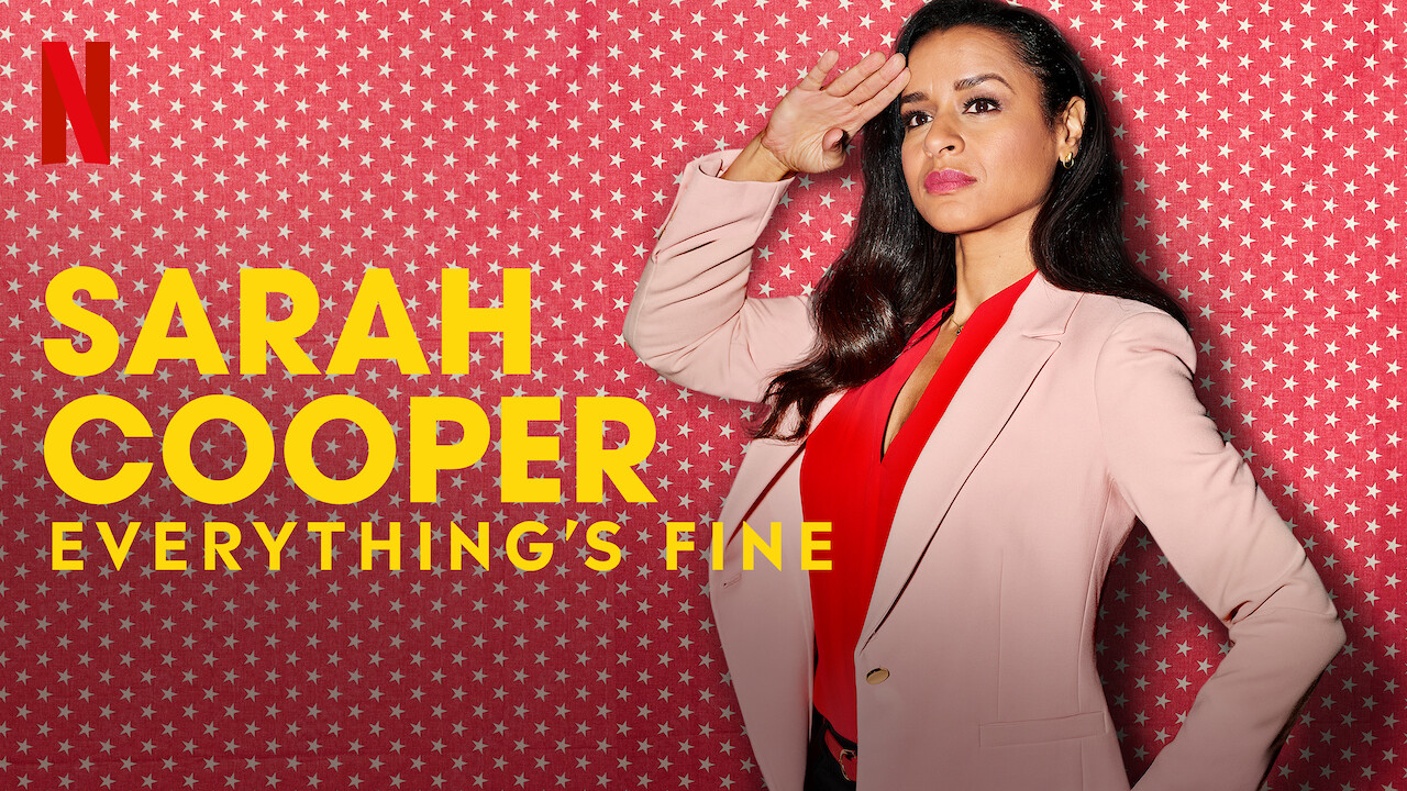 Sarah Cooper: Everything's Fine on Netflix Canada