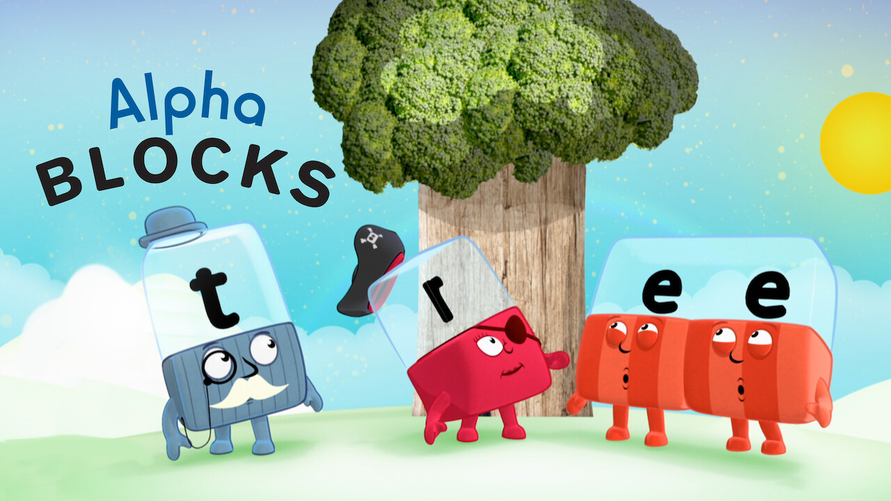 Alphablocks on Netflix Canada