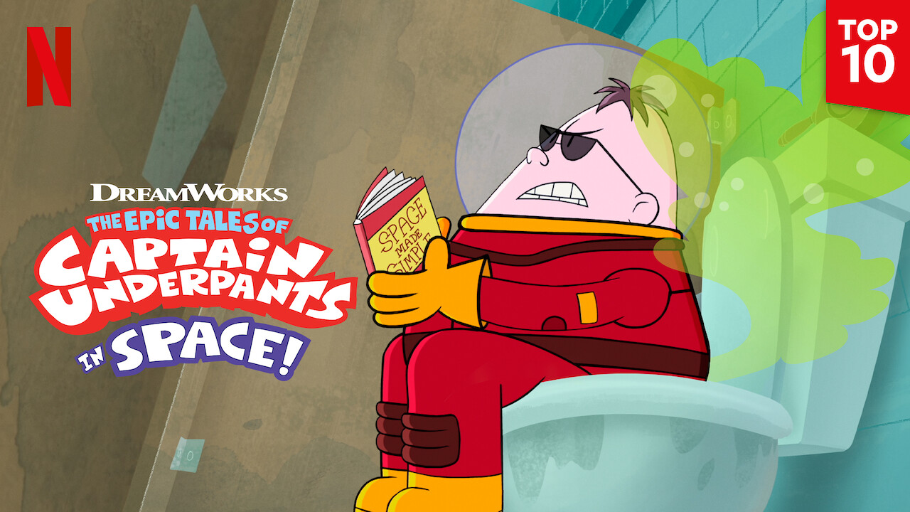 The Epic Tales of Captain Underpants in Space on Netflix Canada