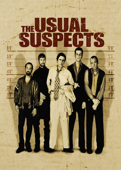 The Usual Suspects on Netflix Canada
