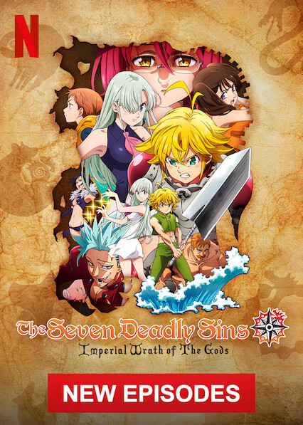 The Seven Deadly Sins on Netflix Canada