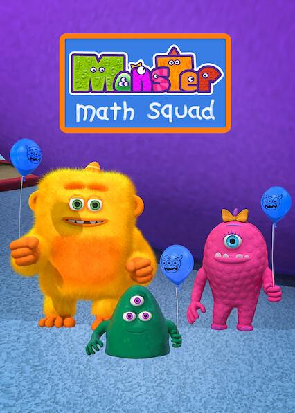 Monster Math Squad on Netflix Canada