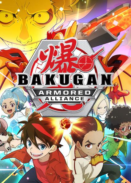 Bakugan: Armored Alliance on Netflix Canada